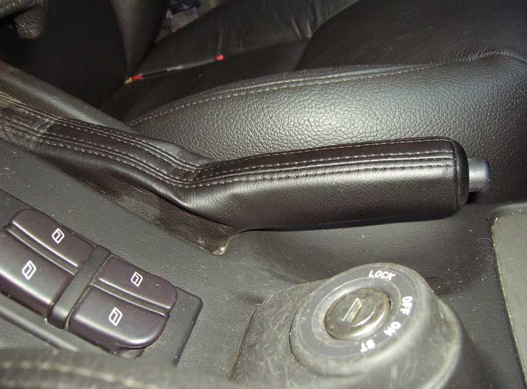 emergency brake lever