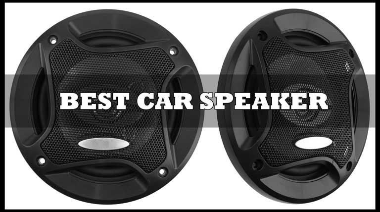 best car speaker for bass & sound quality