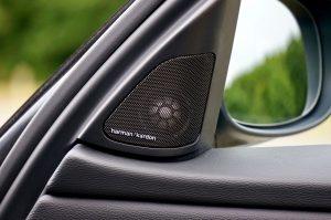 test car speaker if it is blown out
