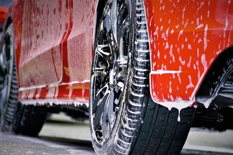 can i use hair shampoo to wash my car