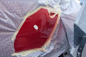 how to remove super glue from car paint