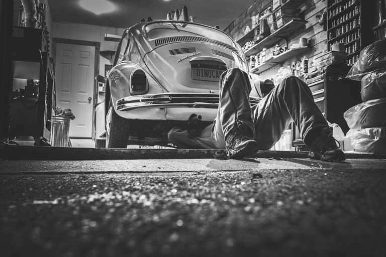 car shakes when braking it